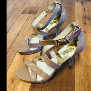 MICHAEL Kors Shoes - Miachel kors strappy shoes sandals high heels 10